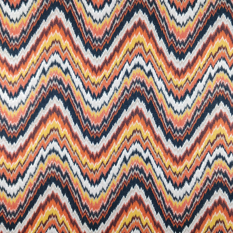 2m Orange Chevron | Fabric Styles