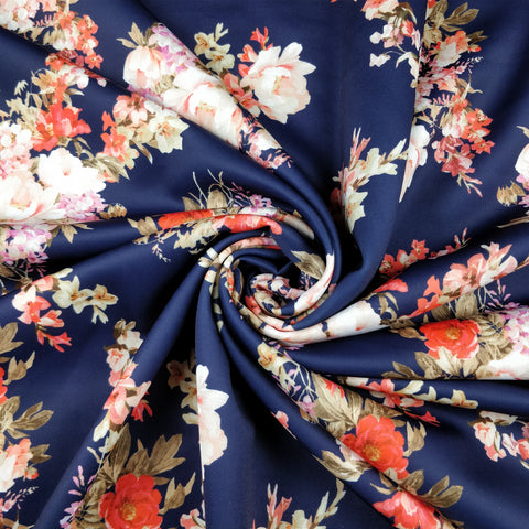 FS288 Navy Anemone Floral