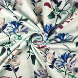FS286 Rose Mint Floral | Fabric Styles