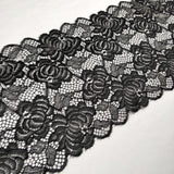 FS303 Black Lace Trim | Fabric Styles
