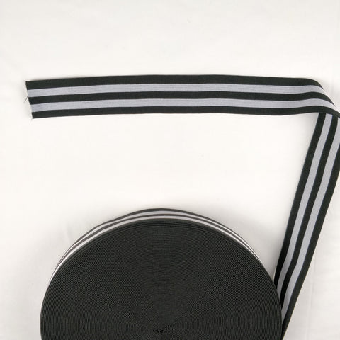 FS300 Black Grey Stripe