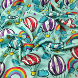 FS256 Funfair Hot Air Balloon | Fabric Styles