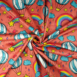 FS255 Funfair Shooting Stars | Fabric Styles