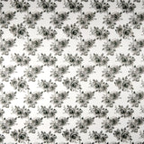 FS259 Monochrome Roses | Fabric Styles