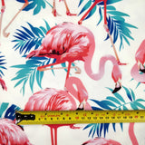 FS264_1 Flamingo Palm Leaves | Fabric Styles