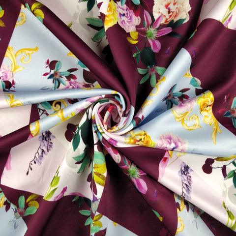 FS312 Carnation Abstract | Fabric Styles