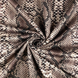 FS062_4 Brown Snake Skin | Fabric Styles