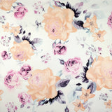 FS114_1 Peony Rose Pink Floral | Fabric Styles