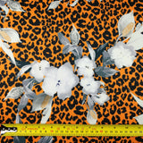 FS307 Floral Leopard | Fabric Styles