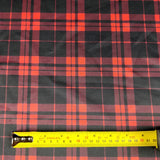 FS341_1 Red Tartan | Fabric Styles