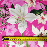 FS314_1 Lily Amaryllis Floral | Fabric Styles