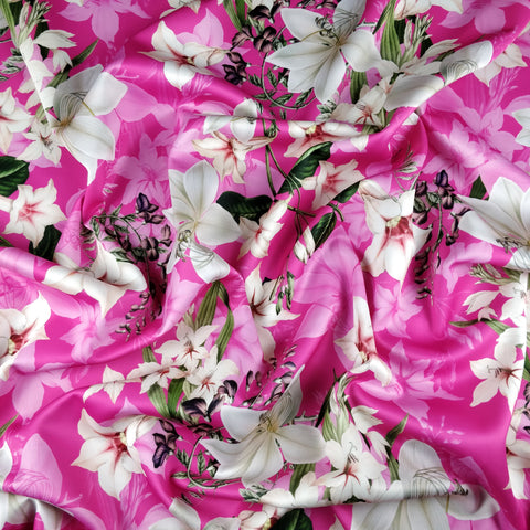 FS314 Lily Amaryllis Floral | Fabric Styles