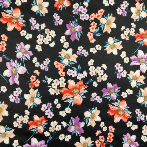 FS369 Black Base Floral