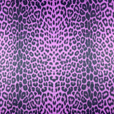 FS005_5 Purple Leopard | Fabric Styles
