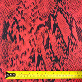 FS375 Red Snake | Fabric Styles