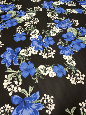 FS360_2 Blue Floral | Fabric Styles