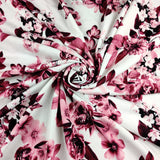 FS452 Red Floral | Fabric Styles