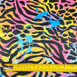 FS487 Zebra Paint Splat | Fabric Styles