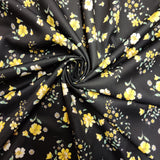 FS449 Yellow Ditsy | Fabric Styles