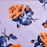 FS438 Rose Orange | Fabric Styles