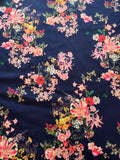 FS460 Navy Floral | Fabric Styles