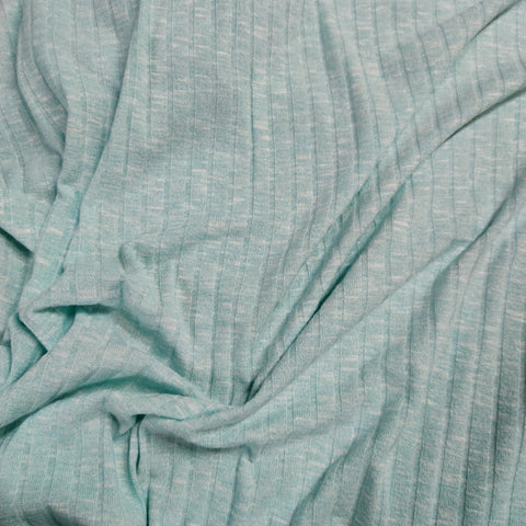 FS489_4 Mint Loungewear Rib | Fabric Styles