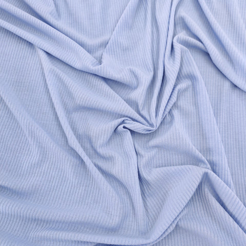 FS591_2 Baby Blue Poly Cotton Rib