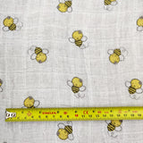 FS597 Bee Cotton Muslin