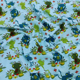 FS741_1 Frogs Blue