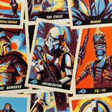 FS598_7 Star Wars Trading Cards Cotton