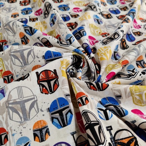 FS598_6 Star Wars Helmets Cotton