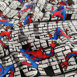 FS756_3 Spider-Man Wall Crawler Cotton