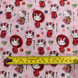 FS892_2 Hello Kitty Kawaii Cotton