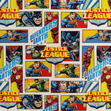 FS895_1 Justice League Defenders of Earth Cotton