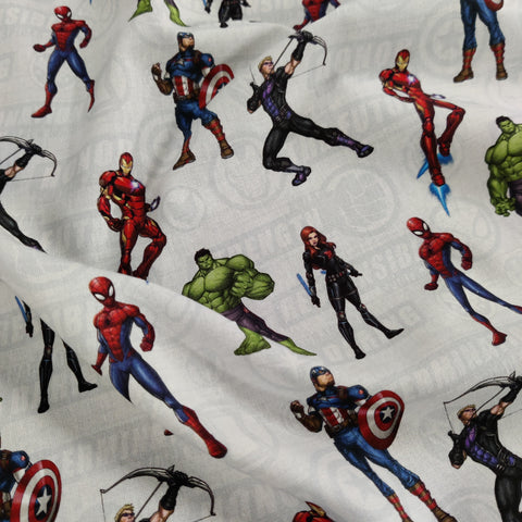 FS887_1 Avengers Assemble Cotton