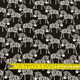 FS866 Safari Central Zebra Cotton