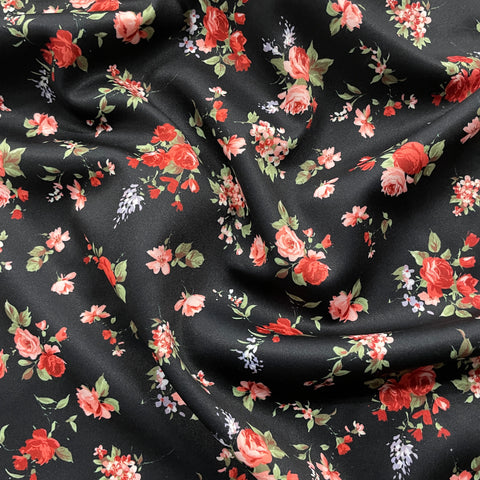 FS897 Small Red Floral
