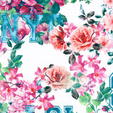 FS144_1 Floral New York Print