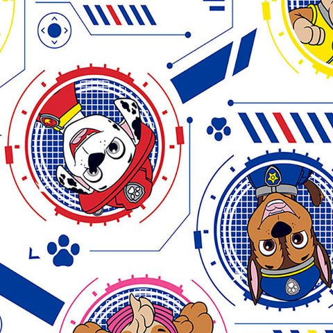FS894_3 Paw Patrol Faces Cotton