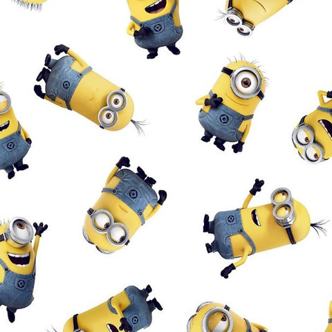 FS893_1 Minions Gang Despicable Me Cotton