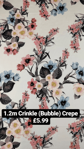 1.2m Bubble Crepe