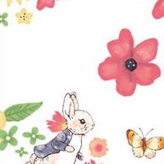 FS689_3 Peter Rabbit Large Florals