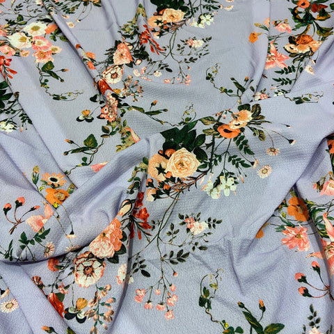 15. Purple Floral | Fabric Styles