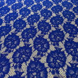 113. Royal Blue Lace | Fabric Styles