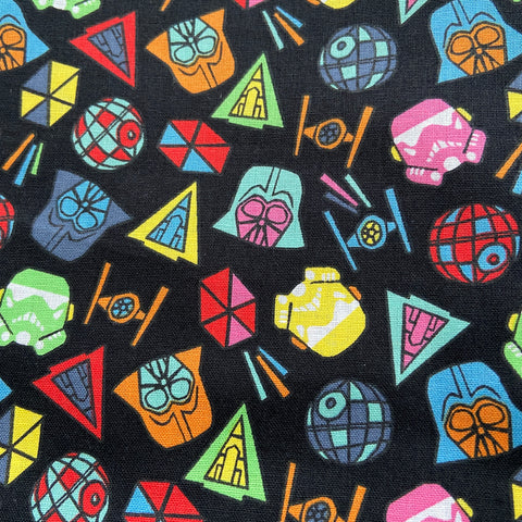 FS598_2 Star Wars Icons Cotton
