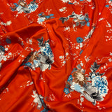 14. Red Floral | Fabric Styles