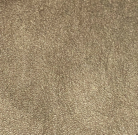 FS410_1 Gold Shimmery Faux Leather | Fabric Styles