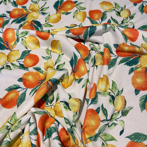 FS444_2 Orange & Lemons | Fabric Styles