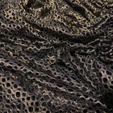 31. Gold Filet Foil Lace Fabric | Fabric Styles