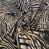 FS014 Zebra Print Animal | Fabric Styles